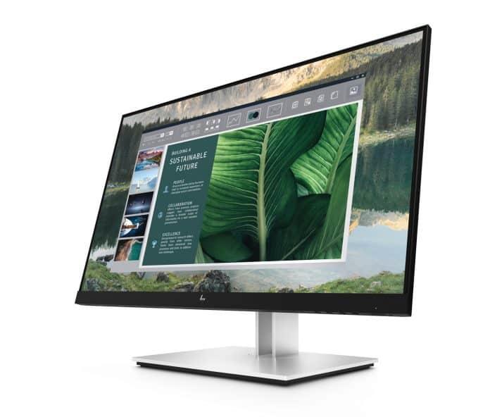 Die neuen HP-Monitore mit USB-C-Anschluss könnten das echte Allround-Talent für das Home-Office in diesem Jahr werden.