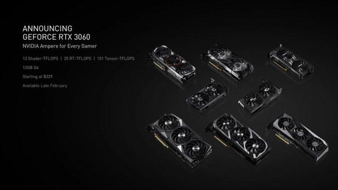 Die neu vorgestellte GeForce RTX 3060 von Nvidia könnte die aktuelle RTX 3060Ti überflüssig machen.