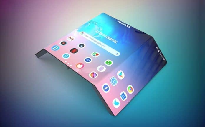 Samsung arbeitet an rollbaren Displays