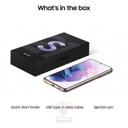 geleakte Bilder des Samsung S21