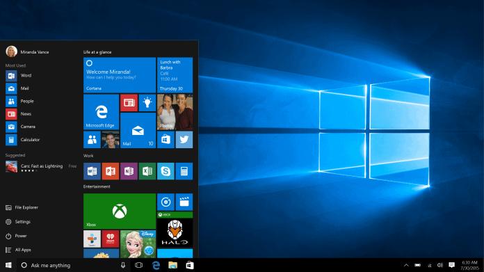 Windows 10 könnte zukünftig für bestimmte Anwendungsfälle optimiert werden.