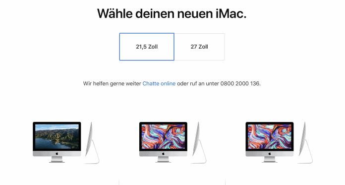 iMac 21 Zoll entfernt