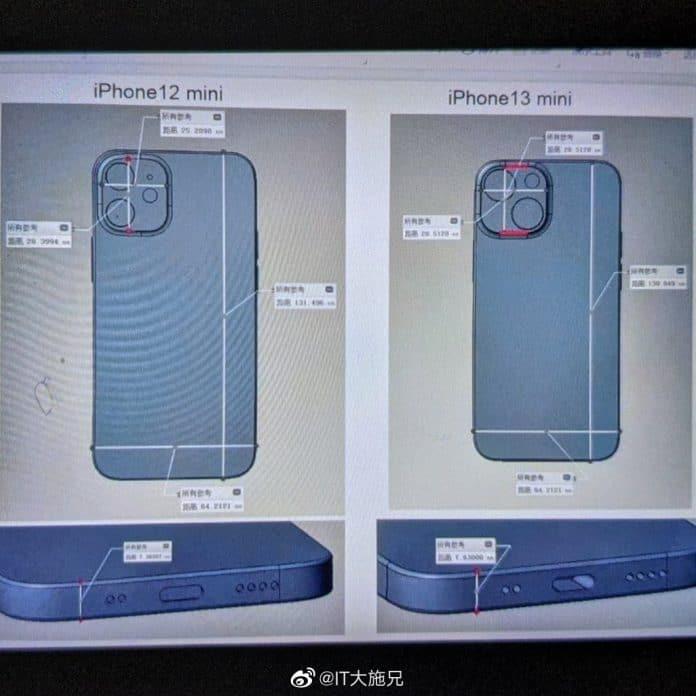 iPhone 13 Mini Kamera Leak