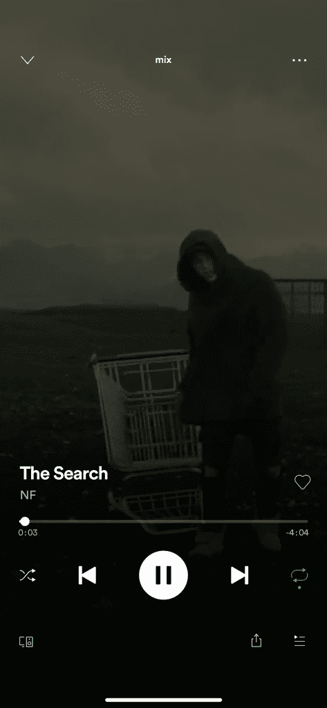 Shuffle bei Spotify deaktivieren